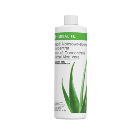 Băutură Concentrată Herbal Aloe Vera Original 473ml