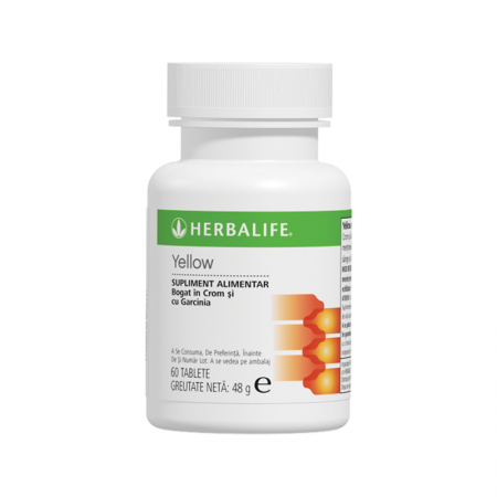 Thermojetics Yellow Herbalife 60 de tablete